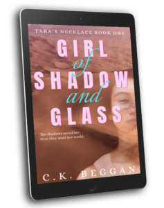 Girl of Shadow and Glass Ebook Cover