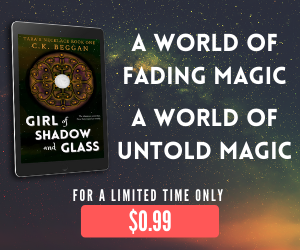 Girl of Shadow and Glass 99c Ad