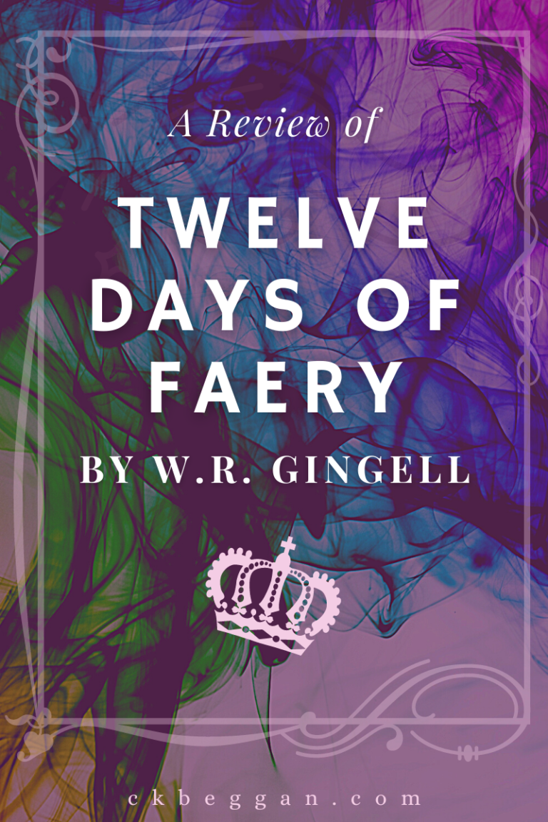 Twelve Days of Faery Book Review Graphic