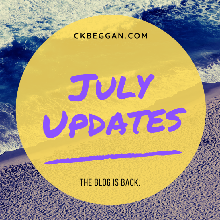 July 2021 Updates: The blog is back.
