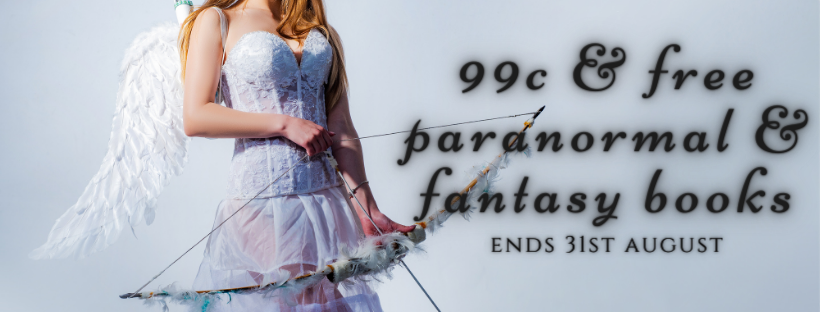99c and free paranormal and fantasy books August 2021