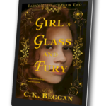 Girl of Glass and Fury Kindle Mockup