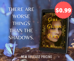 Girl of Glass and Fury 99c Promotional Price Ad