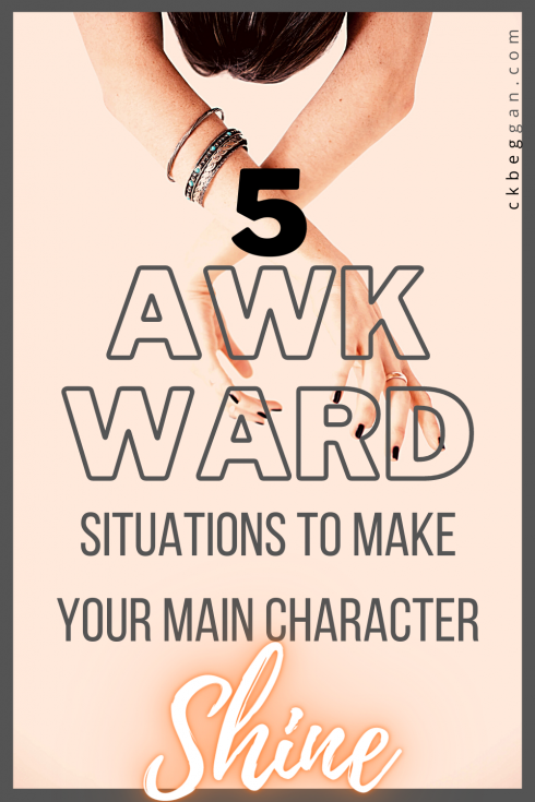 5 Awkward Situations to Make Your Main Character Shine