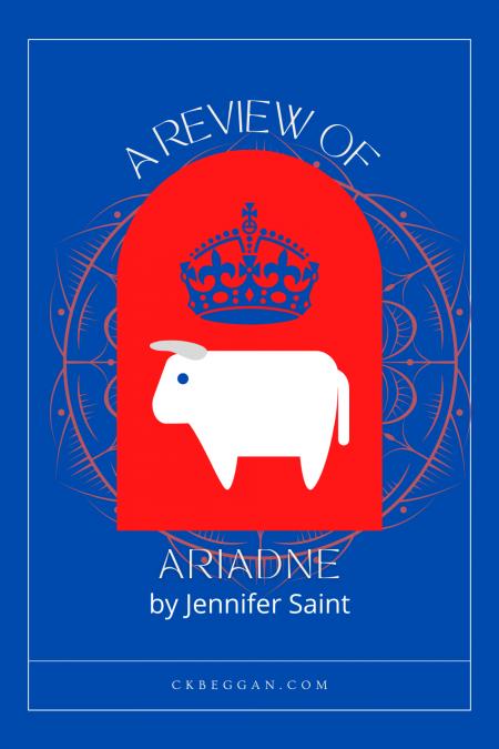 Ariadne, by Jennifer Saint, Review Graphic