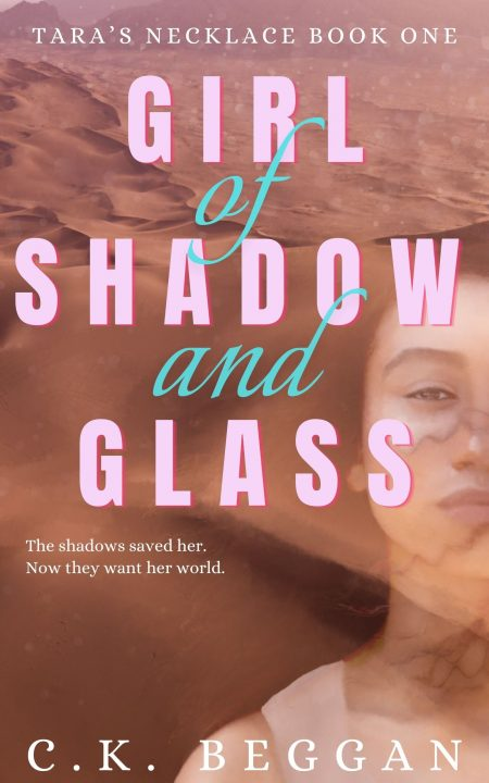 Girl of Shadow and Glass Cover
