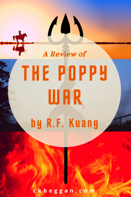 The Poppy War, by R.F. Kuang, Review Graphic