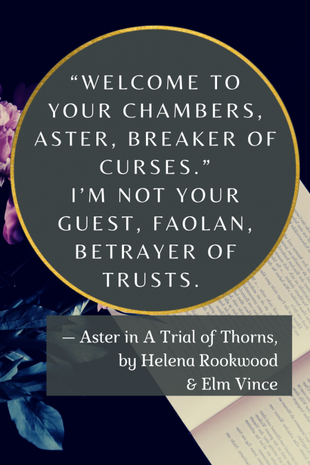 Quote from A Trial of Thorns (Rookwood & Vince)